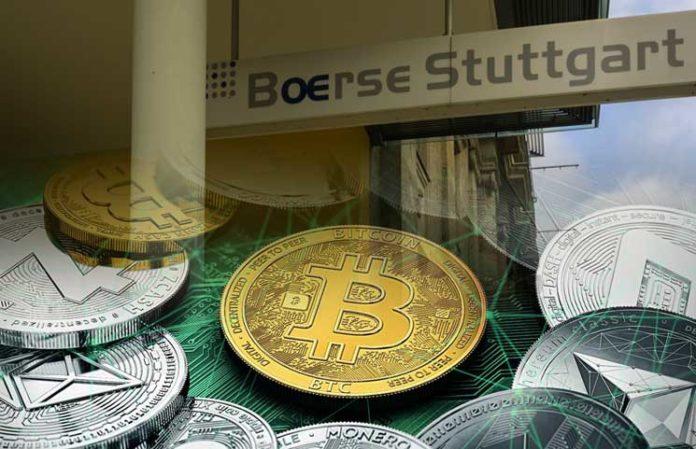 Una bolsa alemana comercializó € 1.000 millones en criptomonedas durante 2020